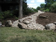 dry set walls